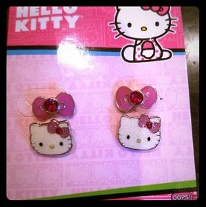 Hello Kitty Earring Set